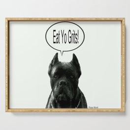 Riggo Monti Design #18 - Eat Yo Grits! Serving Tray