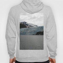 TEXTURES -- A Face of Portage Glacier Hoody