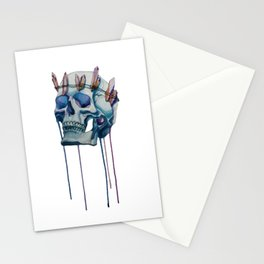 king of the ice Stationery Cards