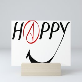 Happy Atheists Mini Art Print