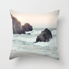 Sean and rock Throw Pillow