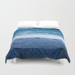 Black Rock Beach Duvet Cover