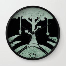 Grounding (Black) Wall Clock