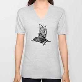 Flock of Starlings / Murmuration Unisex V-Neck