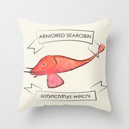 Searobin Throw Pillow