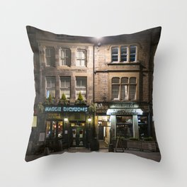 Maggie Dickson Grassmarket Edinburgh Scotland Throw Pillow
