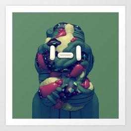 Lump Head Art Print