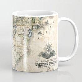 United States - Telegraph stations - 1853 Coffee Mug