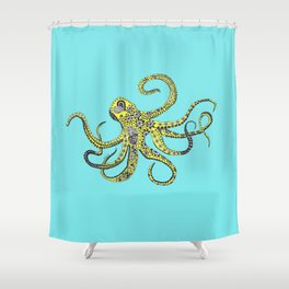 The illustrious Octo (by Anjuri) Shower Curtain