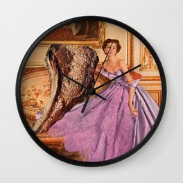 Pleased to Meat You Wall Clock