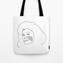 Diana of V Tote Bag
