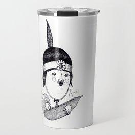 Apache Kid Travel Mug