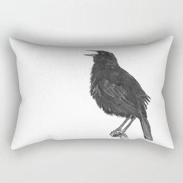 Tordo - Blackbird Rectangular Pillow