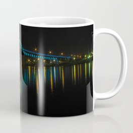Bridge at night, Belgrade, Serbia Coffee Mug