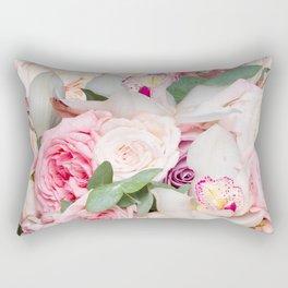 In a Giant's Flower Garden Rectangular Pillow