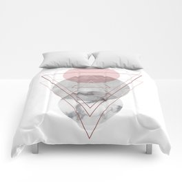 Visions Raspberry Frost Comforters