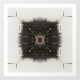 Neural Forest  Art Print