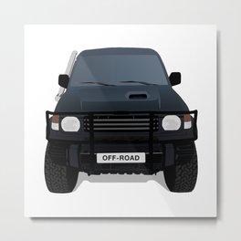 Off - Road Truck Metal Print
