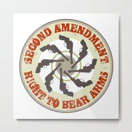 Second Amendment Metal Print