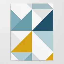 Modern Geometric 18/3 Poster