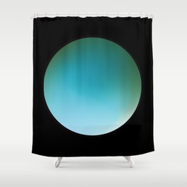 ORB NOIR:3 Shower Curtain