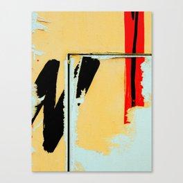 Peeling Poster Canvas Print