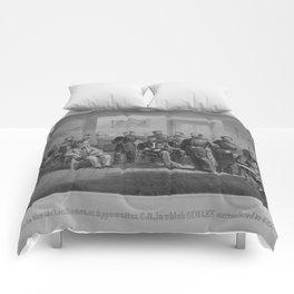 Lee Surrendering At Appomattox -- Civil War Comforters