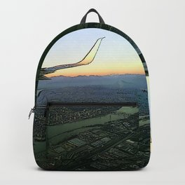 Landing together with the sun Backpack