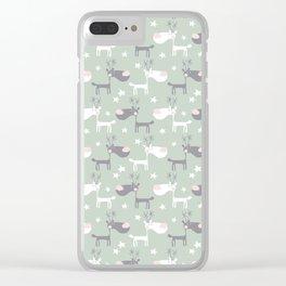 Dear deers Clear iPhone Case