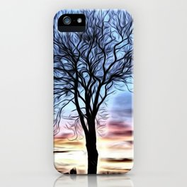 The Lovely Tree iPhone Case