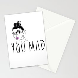 You mad Stationery Cards