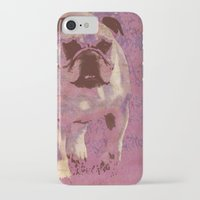 bulldog iPhone & iPod Cases featuring Bulldog by Angelandspot