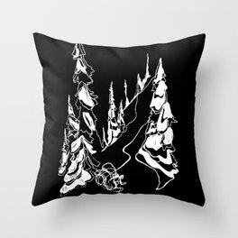 Back Alley :: Single Line Throw Pillow
