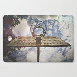 Hoosier Basketball Cutting Board