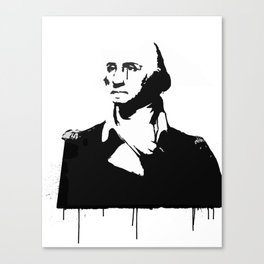 George Washingtear Canvas Print