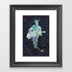 Genie Bard Framed Art Print