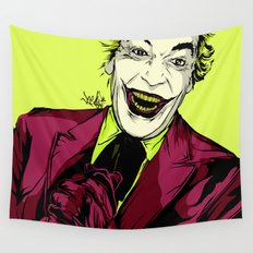 Joker On You 2 Wall Tapestry