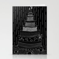 cake Stationery Cards featuring Cake by girlbhindscreen