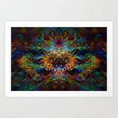 Trouble Incognito Art Print