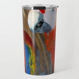 Scarlet Macaws Travel Mug