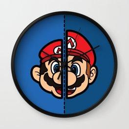 Old & New Mario Wall Clock
