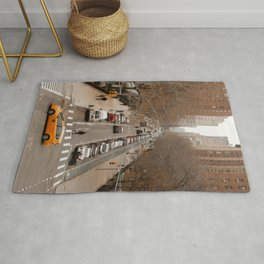 Travel Photography: New York City, Cross Walk Rug