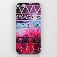aztec iPhone & iPod Skins featuring AZTEC by UDIN