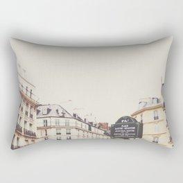 Place Sartre Beauvoir Rectangular Pillow