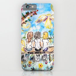 The Friendship Bench iPhone Case