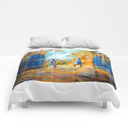 The Blue Gates /Haiti Comforters