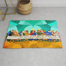 Curves - Last Supper Rug
