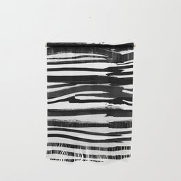 Stripes - Fusion of pen strokes Wall Hanging