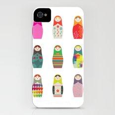 Russian Dollz Slim Case iPhone (4, 4s)