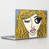 sassy Laptop & iPad Skins featuring Sassy by Kurit Mikay